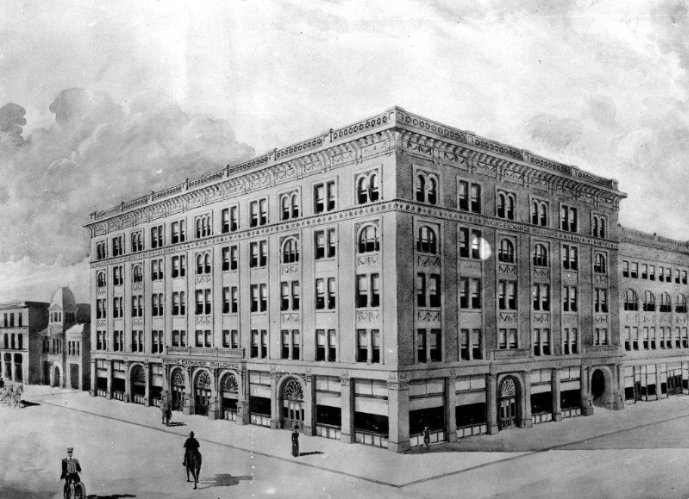 A Historic Rendering Of The Mining Exchange Building 11 of 16