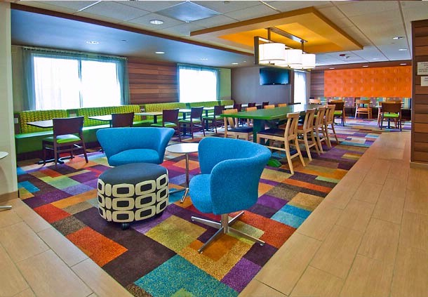 The All New Fairfield Inn & Suites Lobby Has So Much To Offer. 8 of 17