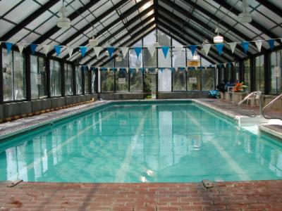 Our 75\' Indoor Lap Pool 3 of 12