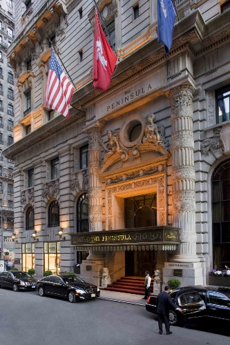 Entrance Of The Peninsula New York 3 of 30
