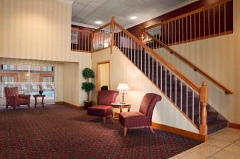 Days Inn Lobby Staircase 7 of 14