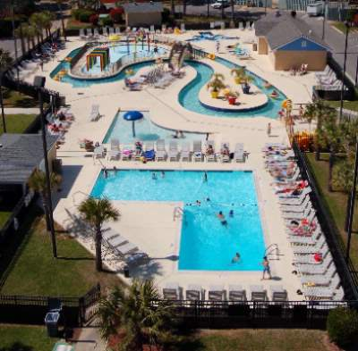 Lazy River Water Park & Pool Deck 11 of 12
