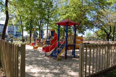 Playground & Pic-nic Area W/ Grills 12 of 12