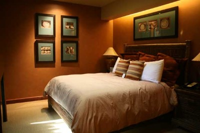 Bedrooms Feature Decorator Bed Treatments And Felicity Pillow-Top Mattresses. 7 of 11