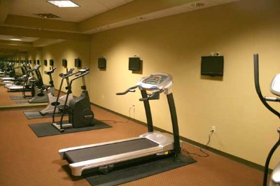 A Well-Equipped Workout Room Is Available. 10 of 11