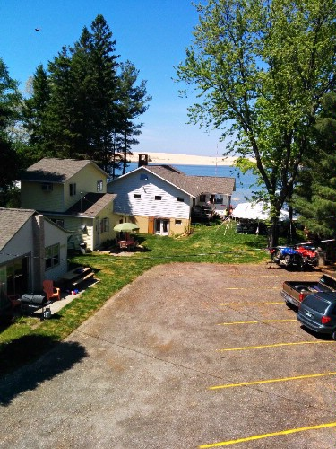 Arial Shot Of All 3 Cottages From 8 of 10