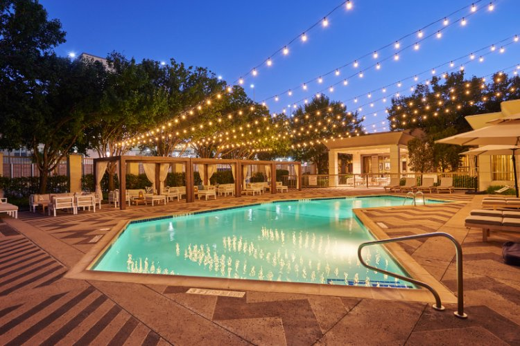 Pool View At Sunrise -Enjoy Our Beautiful Pool And Courtyard. 5 of 21