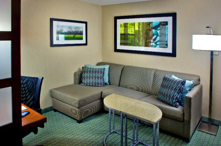 Suite Living Area 8 of 13