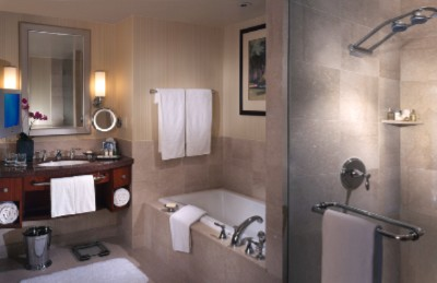 All Guestrooms Include A Marble Soaking Tub Glass Enclosed Shower And Upscale Acca Kappa Bath Amenities. 6 of 15