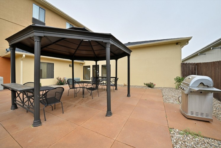 Gazebo Area With Bbq Grill 12 of 30