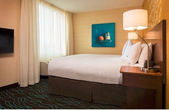 King Suite Bedroom -Wheelchair Accessible Rooms 8 of 15