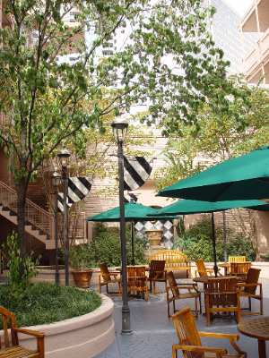 The Inn\'s Beautiful Courtyard 5 of 12