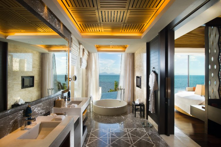 Conrad Royal Oceanview Pool Villa -Bathroom 15 of 31