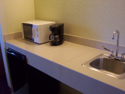 Mini Kitchenette In Each Suite 9 of 12