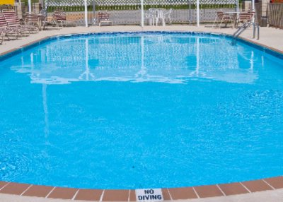 Take A Dip In Our Outdoor Pool 7 of 7