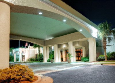 Clarion Hotel & Conference Center Myrtle Beach Entrance To Hotel