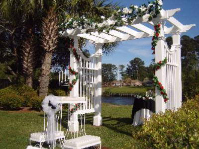 Beautiful Arbor For Outside Wedding 14 of 31