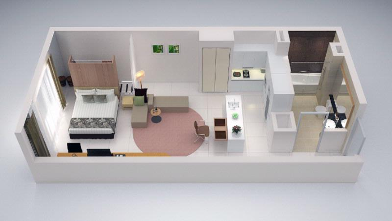Studio Suite Type 2 -56sqm -Floorplan 12 of 23