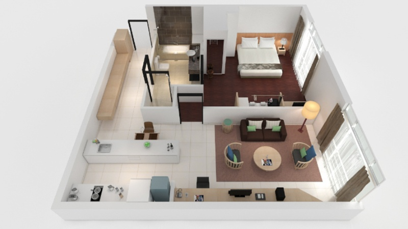 One Bedroom Premier -69sqm -Floorplan 16 of 23