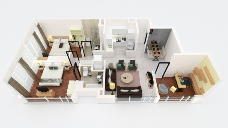 Two Bedroom Premier -96sqm -Floorplan 20 of 23