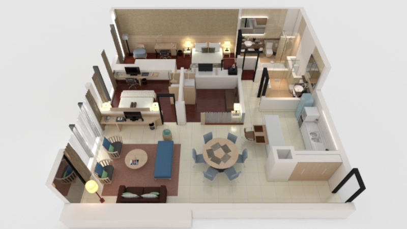 Executive Suite -121sqm -Floorplan 22 of 23