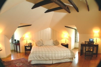 Admiral Fell Guest Room Vaulted Ceiling 5 of 8