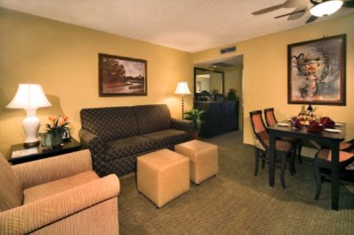 Living Room Of Double Bedded Suite 5 of 24