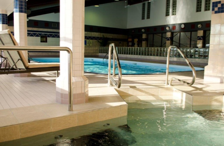 Enjoy Our Pool Hot Tub And Steam Room Area. 7 of 13