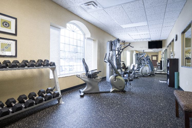 Holiday Inn Express Eau Claire North Fitness Center 9 of 12