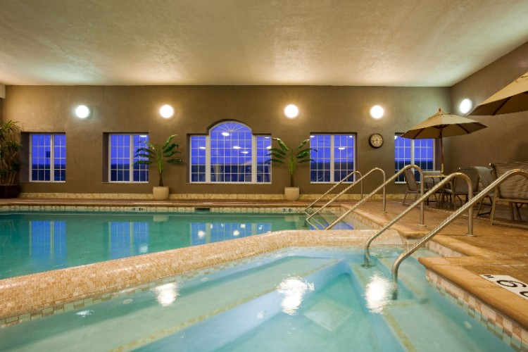 Holiday Inn Express Eau Claire North Indoor Pool Area 10 of 12