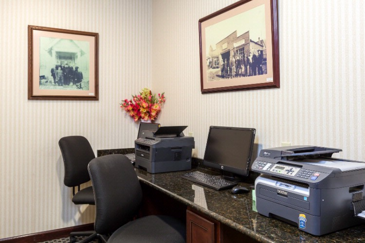 Complimentary Business Center Located On The First Floor Of The Hotel. 27 of 31