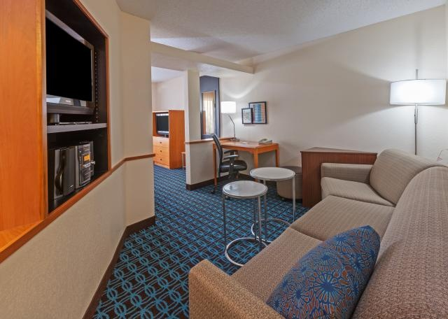 King Suite Living Area 9 of 16