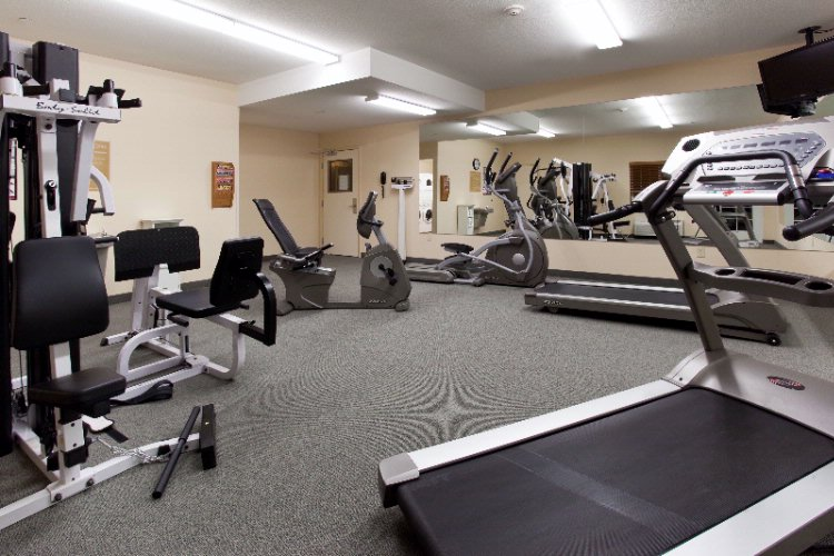 Get Your Work Out On In Our 24 Hour Fitness Room 9 of 11