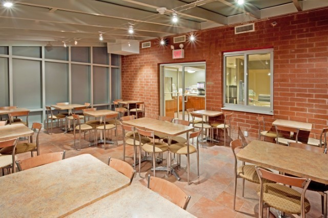 Holiday Inn Express Times Square Breakfast Area 6 of 6