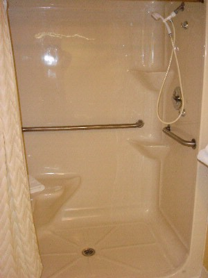 Wheelchair Accessible Handicap Shower Room 8 of 9