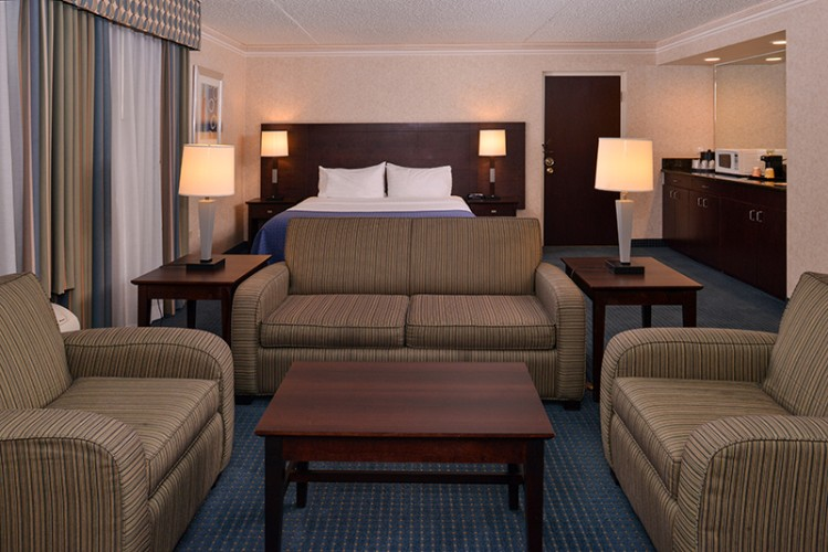 King Executive Suite Non-Smoking Holiday Inn La Mirada Near Disneyland 14 of 31