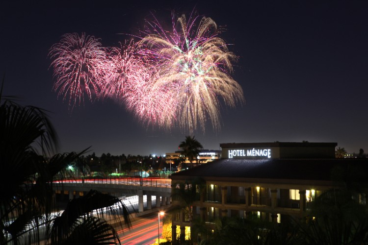 Fireworks Viewable From Our Pool And Lounge Area 3 of 18