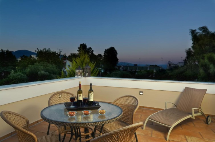 Suite Afrodite (50m²) For 2-4 Persons Balcony 6 of 22