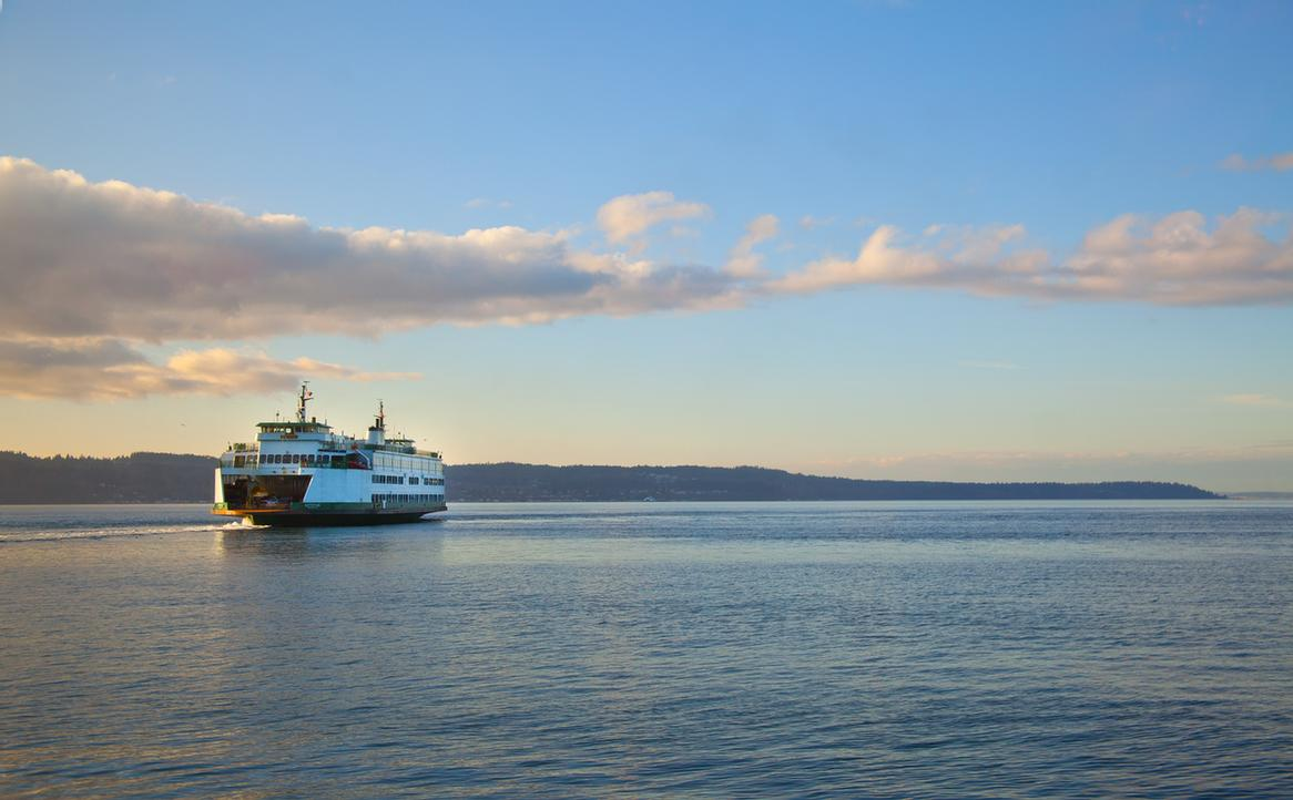The Hotel Is Next Door To The Mukilteo Ferry Terminal With Service To Whidbey Island. 8 of 10