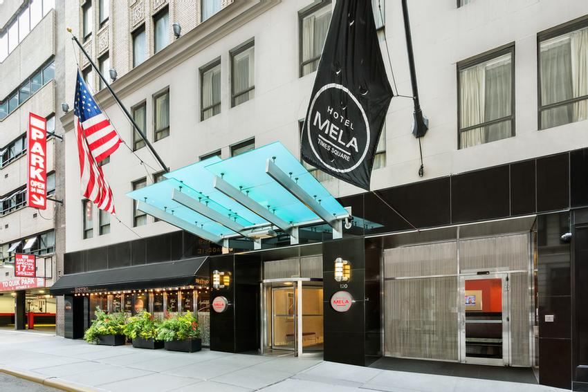 Hotel Mela Times Square New York Ny 120 West 44th 10036