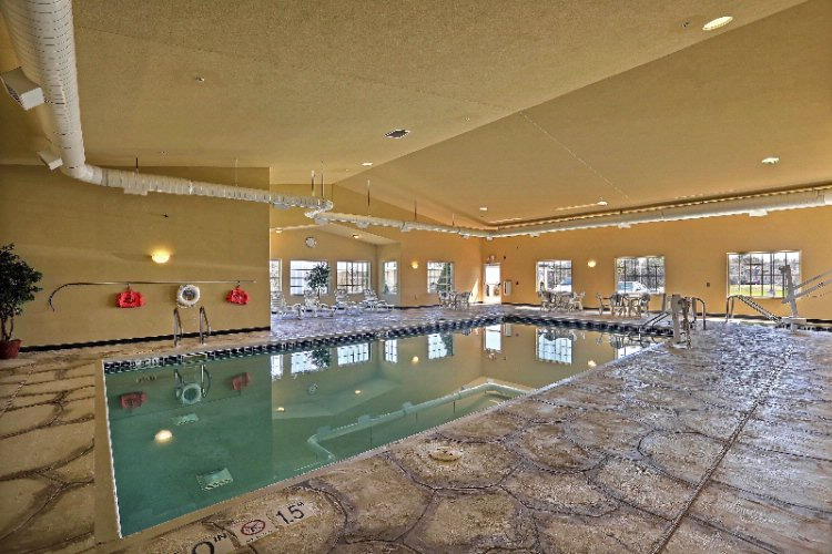 Jump In To Our Large Indoor Pool Or Soak In The Whirlpool. 3 of 8
