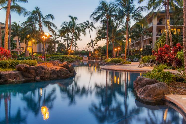 Koloa Landing Resort & Spa -Family Lagoon Pool 2 of 14