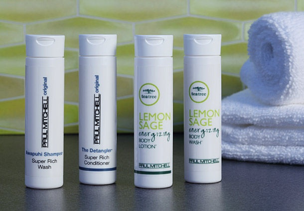 Shower. Repeat. Relax. Enjoy Paul Mitchell Products Next Time You Stay With Us. 16 of 16