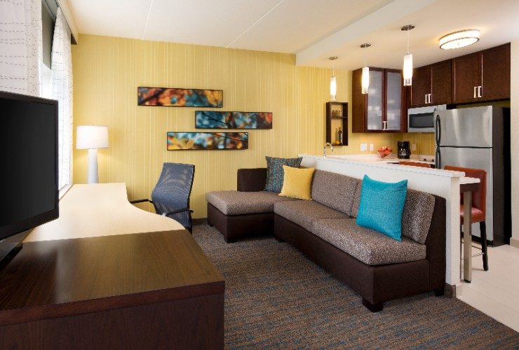 Every Room At Residence Inn Is A Spacious Suite With Full Kitchen. Our Studio Suites Offer Distinct Areas For Working Eating Sleeping And Relaxing. 6 of 16