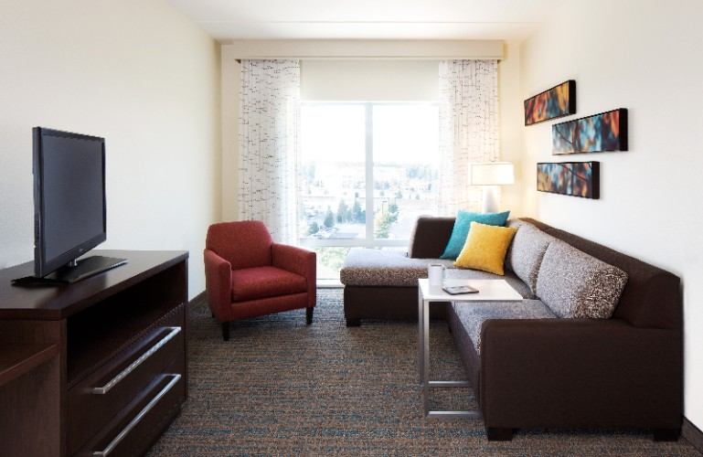 The Living Area Of Our Suites Includes Comfortable Seating A Sofa Bed For Extra Sleeping Arrangements And Hdtv For Working Relaxing Or Planning Your Day. 9 of 16