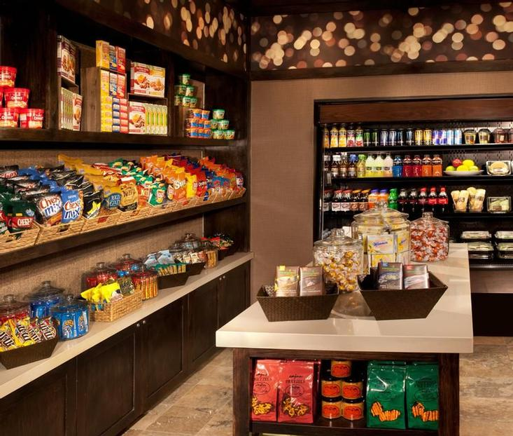 Our Corner Pantry Is Open 24 Hours A Day And Features Snacks Sodas Freshly Made Sandwiches And Salads And Starbucks Coffee. 16 of 23