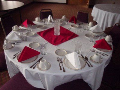 Banquet Table Layout 10 of 10