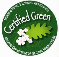 Certified Green Hotel By Missouri Hotel Lodging Assoc. 21 of 22