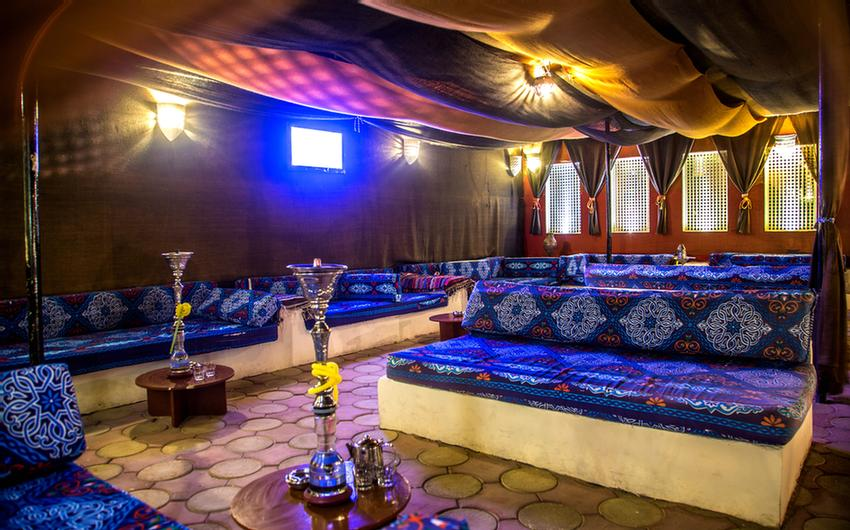 Shisha Corner With Bedouin Style 9 of 19