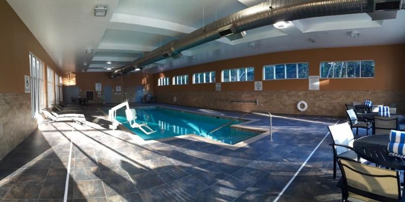 Relax After A Long Days Work In Our Indoor Heated Pool. Or Take A Dip In The Whirlpool To Help Relax. 6 of 15